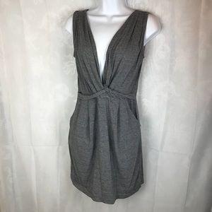 Gap womens small knitted vneck dress sleeveless
